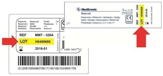 Medtronic Minimed Insulin Reservoirs (mmt-326a And Mmt-332a Models)