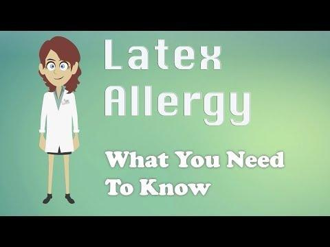 Insulin And Latex Allergy