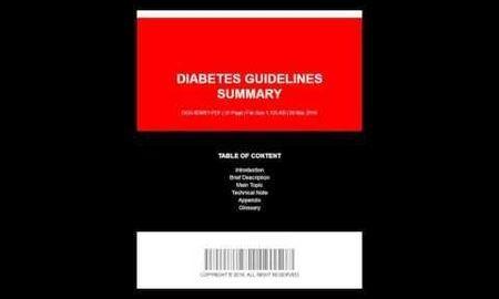 Diabetes Guidelines Summary