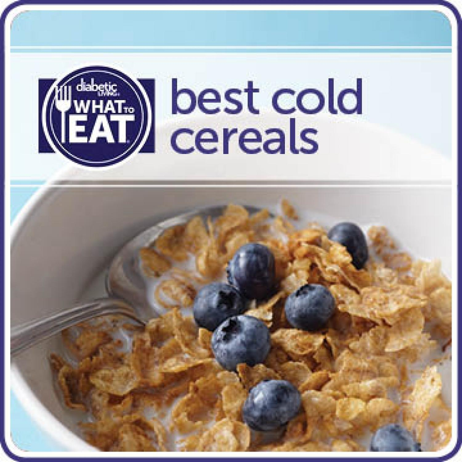 What To Eat With Diabetes: Best Cold Cereals