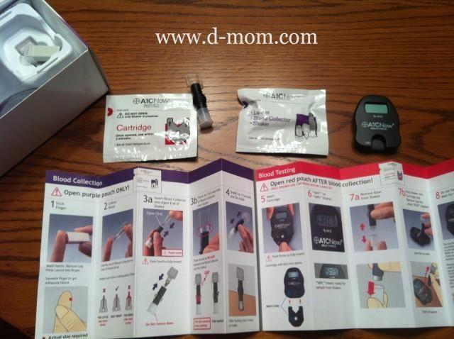 {diabetes Management} Home A1c Test Fail