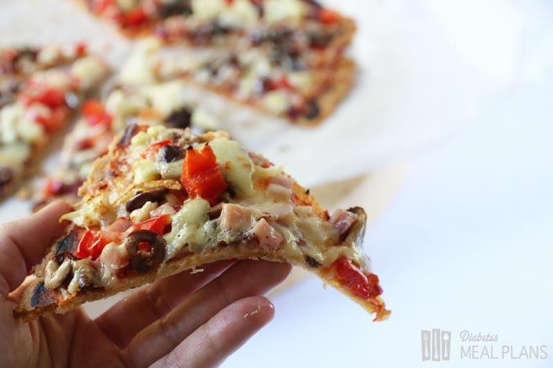 Whole Wheat Pizza Crust For Diabetics