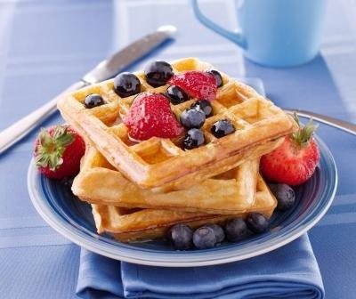 Oat Waffles - Recipes For Diabetics