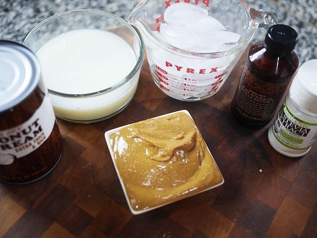 Ketogenic Peanut Butter Milkshake
