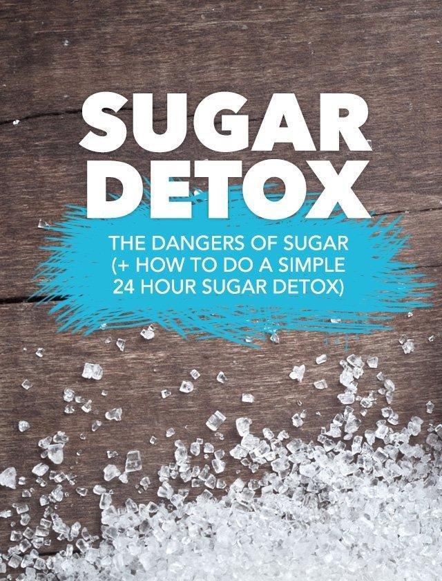 The Dangers Of Sugar (+ How To Do A 24 Hour Sugar Detox)