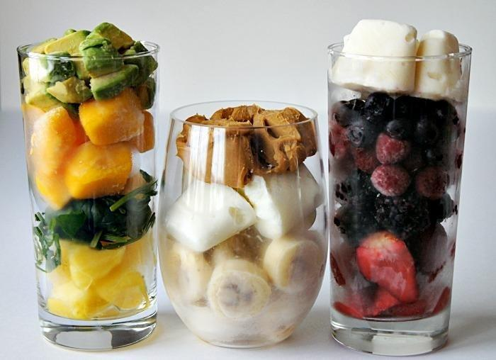 3 Healthy, Portable, Make-ahead Breakfast Smoothie Packs