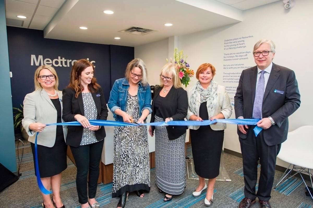 Canadas First Medtronic Diabetes Resource Centre Opens In Surrey