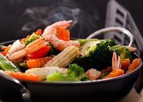 Speedy And Spicy Shrimp Stir-fry
