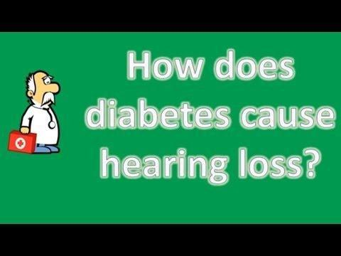 Diabetes And Hearing Loss Powerpoint