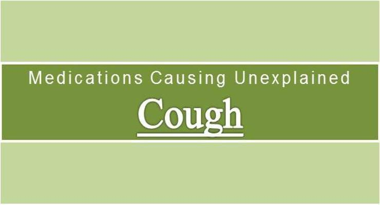 Persistent Dry Cough Treatment In Diabetics