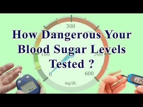 What Blood Sugar Level Is Dangerous