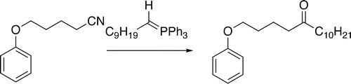 Preparation Of Ketones From Nitriles And Phosphoranes