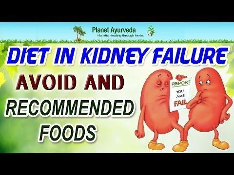 Diabetic Nephropathy Dietary Recommendations