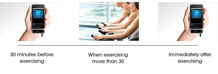 Blood Glucose Levels During Exercise