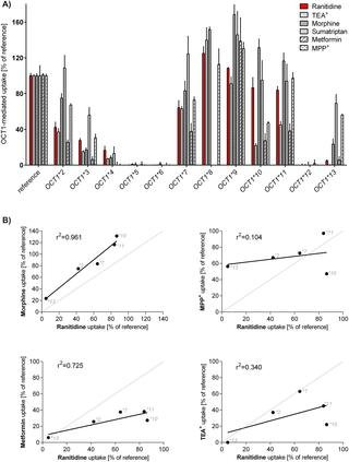 Effects Of Genetic Polymorphisms On The Oct1 And Oct2-mediated Uptake Of Ranitidine