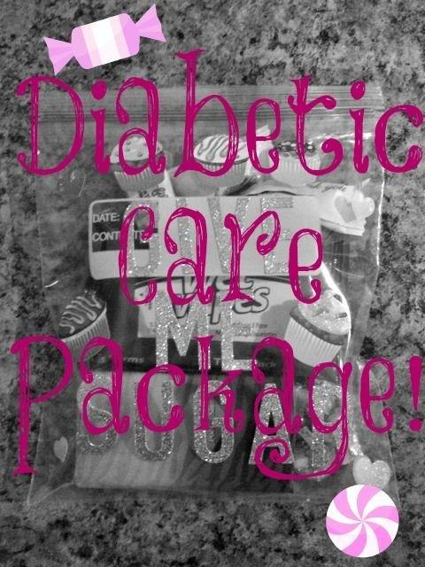Diabetic Care Package: A Cute Gift For Anyone With Diabetes That Is Not Only | Type 1 Diabetes | Pinterest | Diabetes, Diabetes Association And Gift