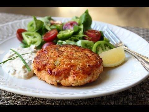 Phil's Vickery Tv - Salmon & Dill Fishcakes (ultimate Diabetes Cookbook)