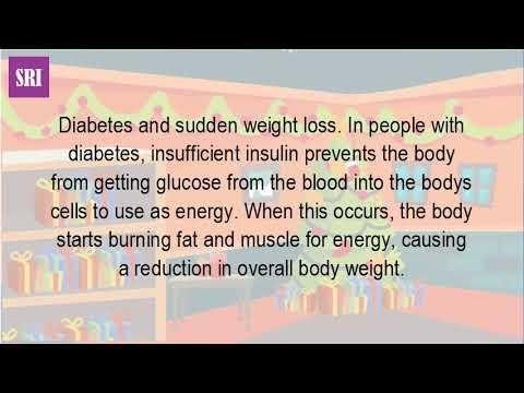 Do Diabetes Make You Lose Weight