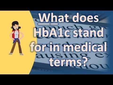 What Does A1c Stand For Diabetes