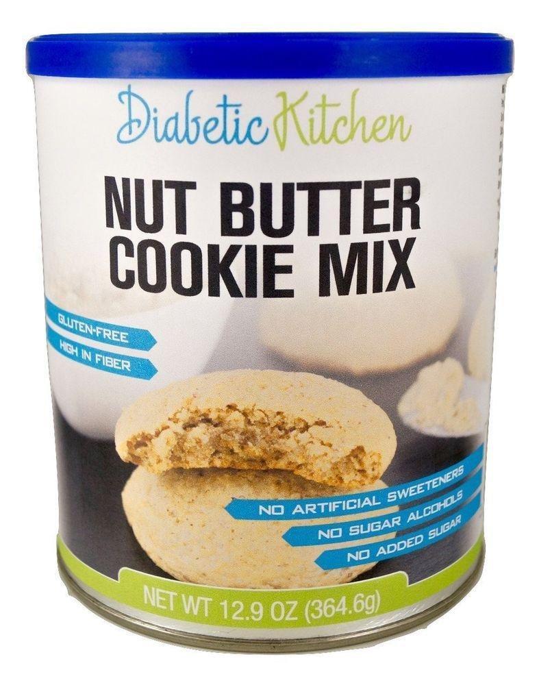 Diabetic Kitchen Nut Butter Cookie Mix Makes The Moistest, Chewiest, No-guilt 859430005044 | Ebay
