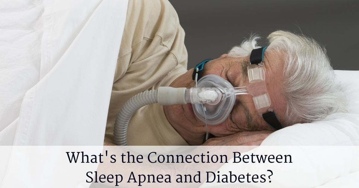 What's the Connection Between Sleep Apnea and Diabetes?