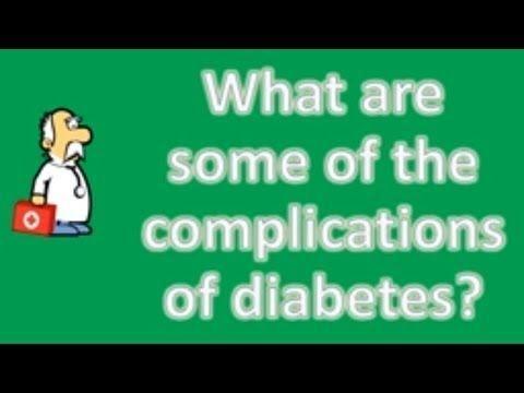 A Common Complication Of Long-term Diabetes Is Quizlet