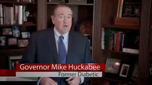 Mike Huckabee And The Diabetes Cure He Endorsed That 'no Health Agency Supports'