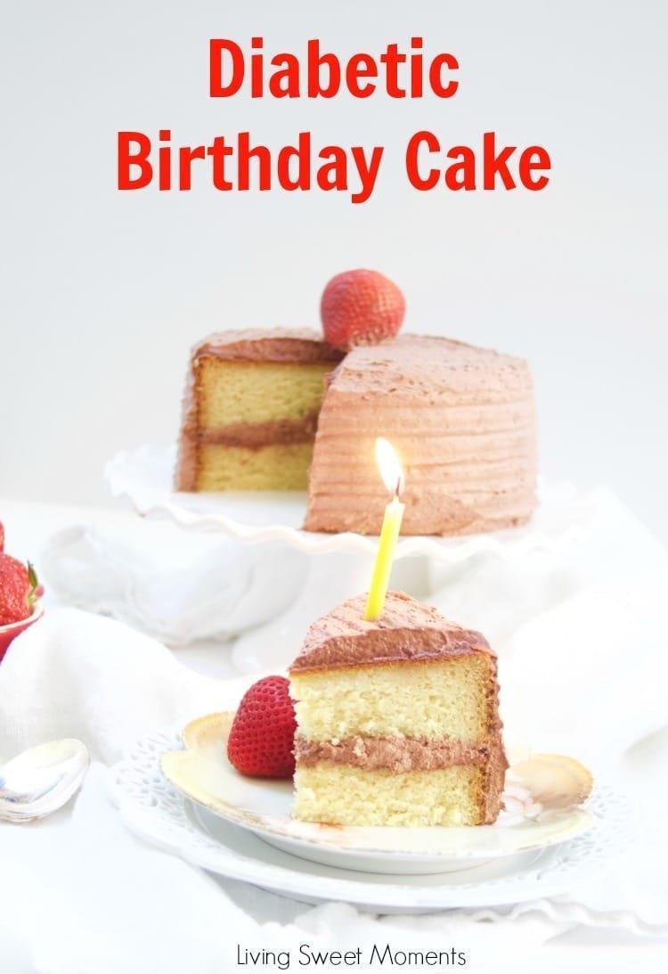 Delicious Diabetic Birthday Cake Recipe