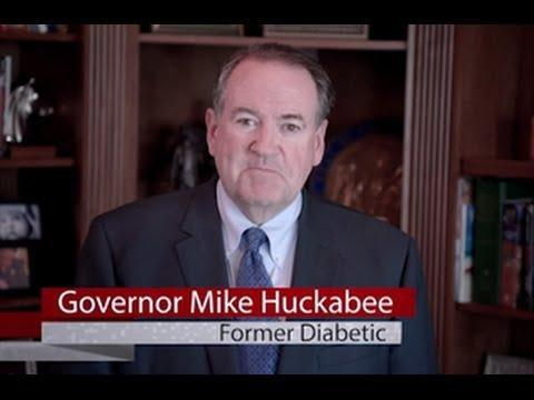 Mike Huckabee Cures Diabetes!!! (with Snake Oil)