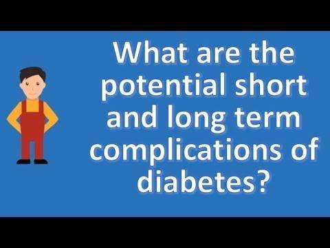 What Are The Short Term Complications Of Diabetes?