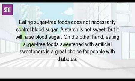 Do Sugar Free Foods Affect Blood Sugar?