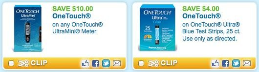 *hot* $10/1 Onetouch Ultramini Meter Coupon (new Link!) = Free At Cvs &walgreens