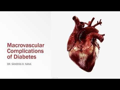 Macrovascular Complications Of Diabetes Mellitus Include