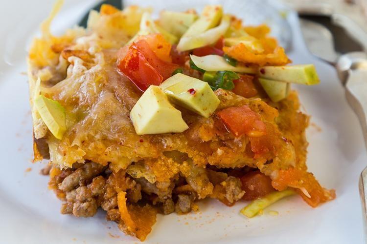 Diabetic Chicken Taco Casserole