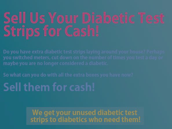 Is It Legal To Buy And Sell Diabetic Test Strips?
