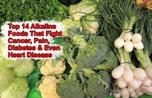 Top 14 Alkaline Foods That Fight Cancer, Pain, Diabetes And Even Heart Disease