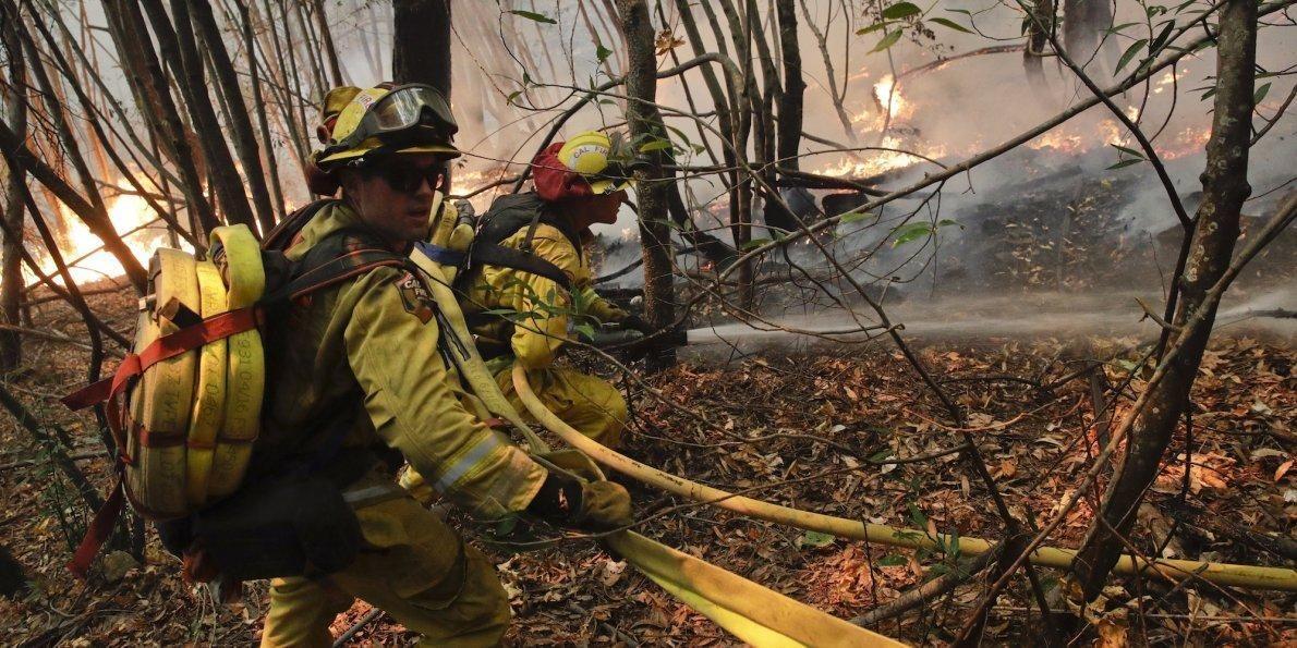 Medtronic Santa Rosa Fire