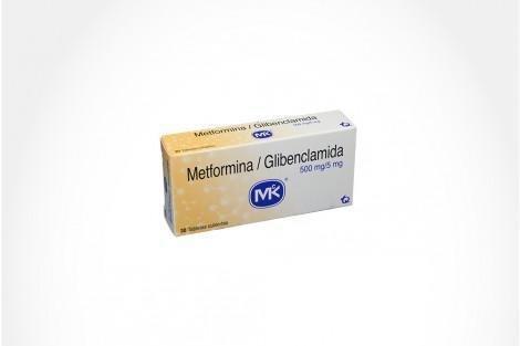 Comprar En Drogueras Cafam Metformina/glibenclamida 30 Tabletas.