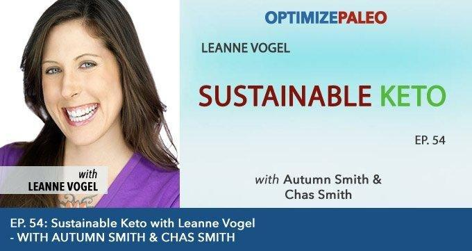 Ep. 54: Sustainable Keto With Leanne Vogel