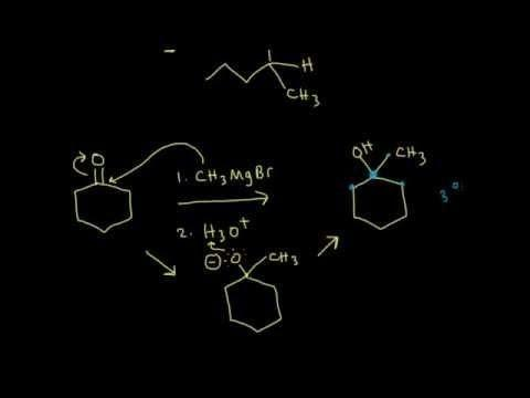 Synthesis Of Alcohols Using Grignard Reagents I