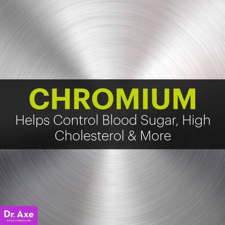 What Is Chromium Beneficial For? Blood Sugar, High Cholesterol & More