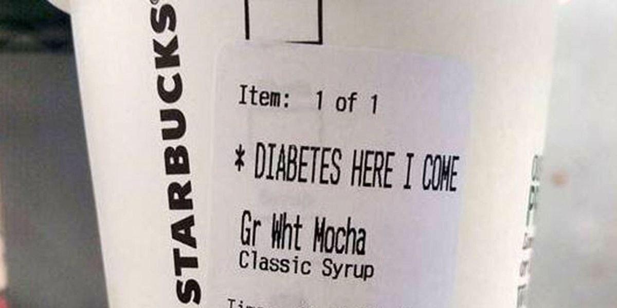 Starbucks Frappuccino Diabetes