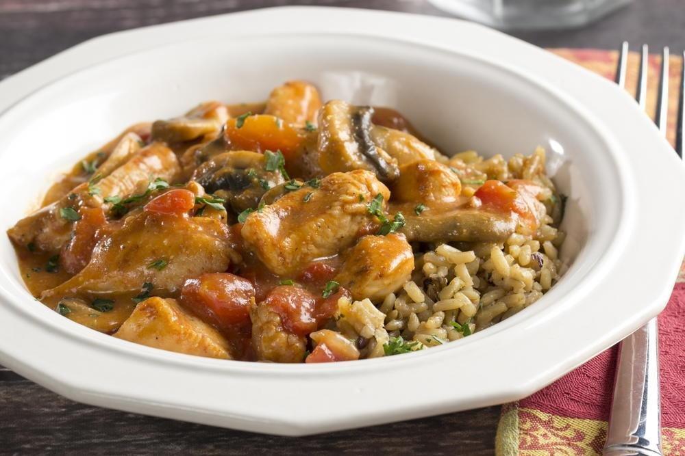 Chicken Mushroom Goulash