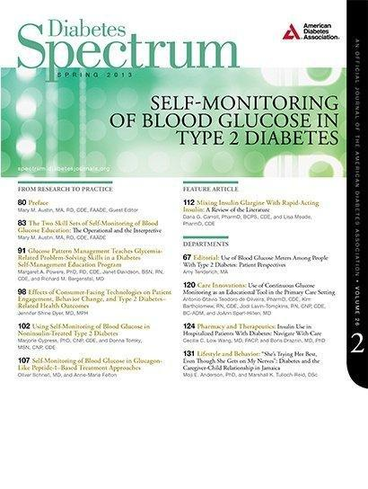 Mixing Insulin Glargine With Rapid-acting Insulin: A Review Of The Literature