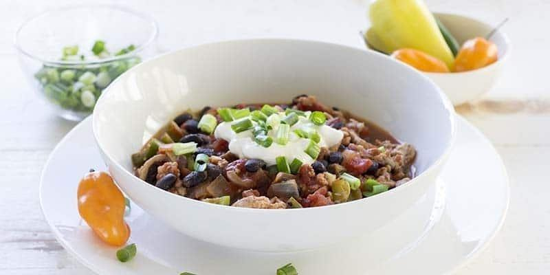Simple Turkey Chili | Diabetes Strong