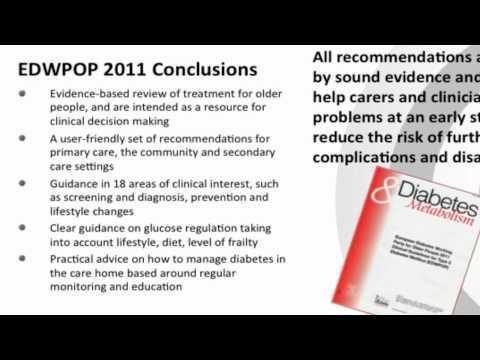 European Diabetes Guidelines