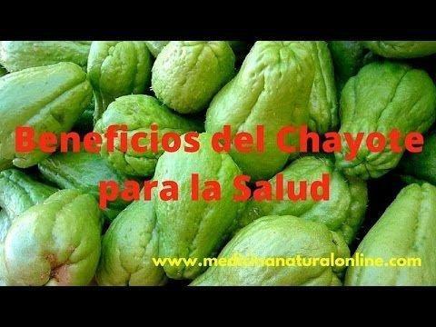 Beneficios Del Chayote - Diabetes, Colesterol, Baja De Peso - Youtube | Recetas | Pinterest | Diabetes And Benefit