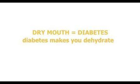 Dry Mouth And Diabetes