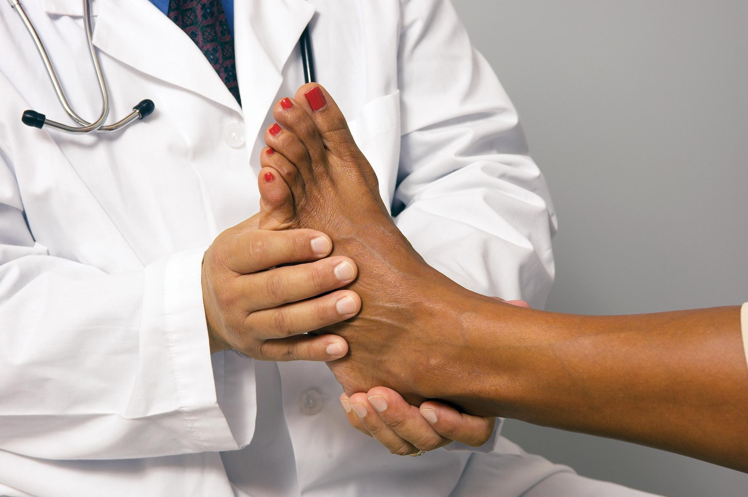 Why Do You Have To Have Your Feet Checked When You Have Diabetes?