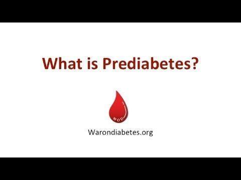 Prediabetes A1c